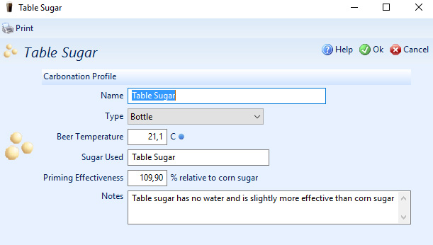 tablesugar
