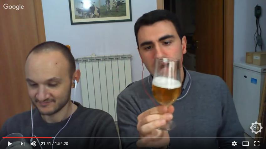 VIDEOASSAGGIO DELLE MIE BIRRE