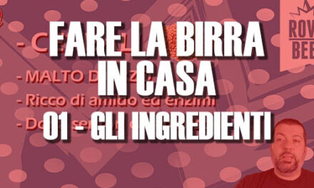 FARE LA BIRRA IN CASA – 01